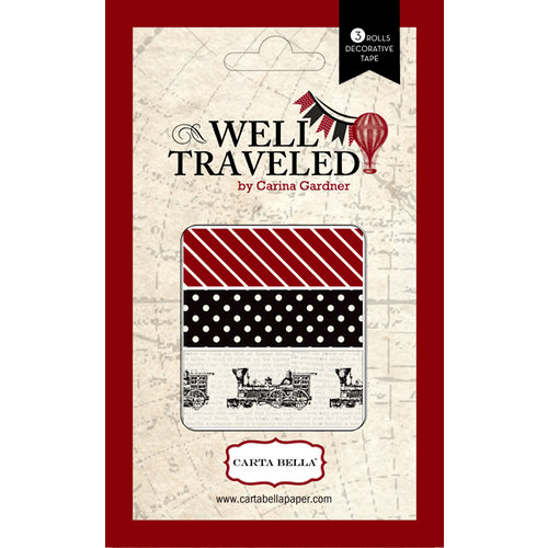 Carta Bella Paper - Well Traveled Collection - Washi Tape