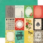 Carta Bella Paper - Yesterday Collection - 12 x 12 Double Sided Paper - 3 x 4 Journaling Cards