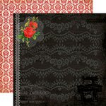 Carta Bella Paper - Yesterday Collection - 12 x 12 Double Sided Paper - Memories