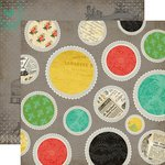 Carta Bella Paper - Yesterday Collection - 12 x 12 Double Sided Paper - Yesterday Doilies