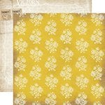 Carta Bella Paper - Yesterday Collection - 12 x 12 Double Sided Paper - Bingo