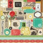 Carta Bella Paper - Yesterday Collection - 12 x 12 Cardstock Stickers