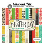 Carta Bella Paper - Yesterday Collection - 6 x 6 Paper Pad