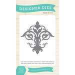 Carta Bella Paper - Yesterday Collection - Designer Dies - Damask