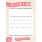 Carta Bella Paper - Yesterday Collection - Designer Dies - Yesterday Edges