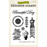 Carta Bella Paper - Yesterday Collection - Clear Acrylic Stamps