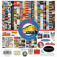 Carta Bella Paper - All Aboard Collection - 12 x 12 Collection Kit