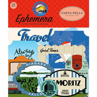 Carta Bella Paper - All Aboard Collection - Ephemera