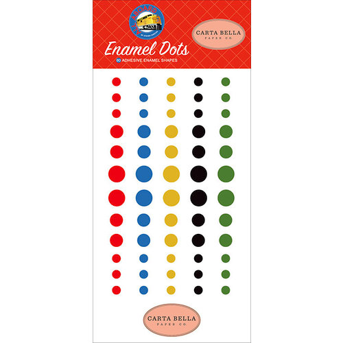 Carta Bella Paper - All Aboard Collection - Enamel Dots