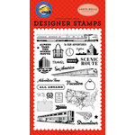 Carta Bella Paper - All Aboard Collection - Clear Photopolymer Stamps - To Our Adventures