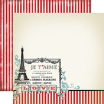 Carta Bella - Amour Collection - 12 x 12 Double Sided Paper - I Love You