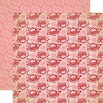 Carta Bella - Amour Collection - 12 x 12 Double Sided Paper - Roses Are Red