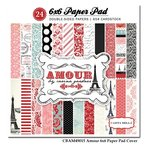 Carta Bella - Amour Collection - 6 x 6 Paper Pad