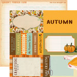 Carta Bella Paper - Autumn Collection - 12 x 12 Double Sided Paper - 4 x 6 Journaling Cards