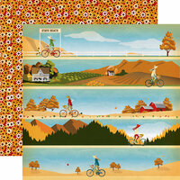 Carta Bella Paper - Autumn Collection - 12 x 12 Double Sided Paper - Autumn Stroll