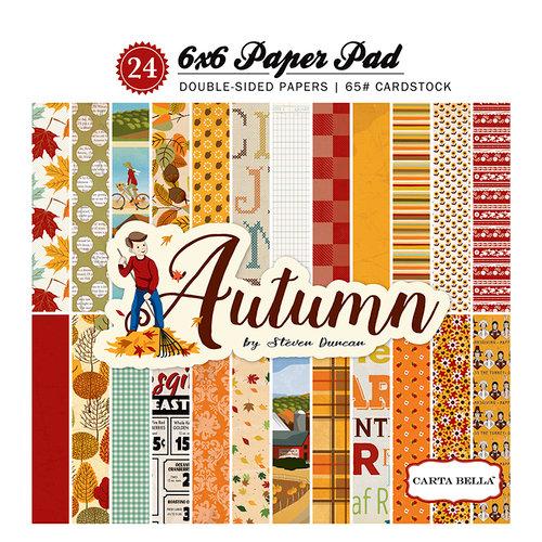 Carta Bella Paper - Autumn Collection - 6 x 6 Paper Pad