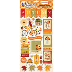 Carta Bella Paper - Autumn Collection - Chipboard Stickers