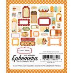Carta Bella Paper - Autumn Collection - Ephemera - Frames and Tags