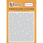 Carta Bella Paper - Autumn Collection - Embossing Folder - Crisp Autumn