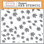 Carta Bella Paper - Autumn Collection - 6 x 6 Stencil - Crisp Autumn