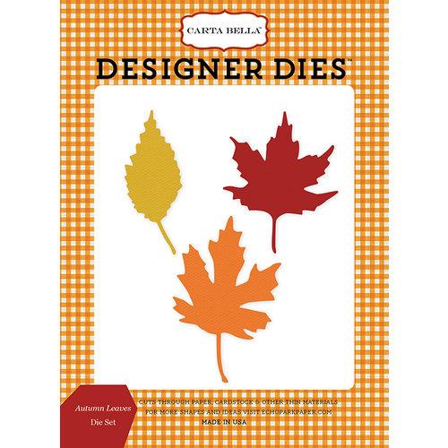 Carta Bella Paper - Autumn Collection - Designer Dies - Autumn Leaves