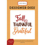 Carta Bella Paper - Autumn Collection - Designer Dies - Autumn Words