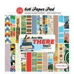 Carta Bella Paper - Are We There Yet Collection - 6 x 6 Paper Pad