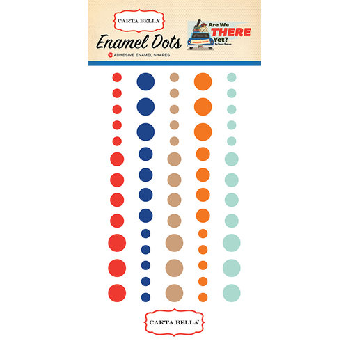 Carta Bella Paper - Are We There Yet Collection - Enamel Dots