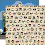Carta Bella Paper - Baseball Collection - 12 x 12 Double Sided Paper - All Star Player
