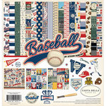 Carta Bella Paper - Baseball Collection - 12 x 12 Collection Kit