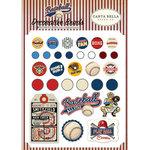 Carta Bella Paper - Baseball Collection - Decorative Brads