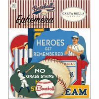 Carta Bella Paper - Baseball Collection - Ephemera
