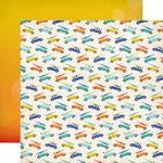 Carta Bella Paper - Beach Day Collection - 12 x 12 Double Sided Paper - Cool Cruising