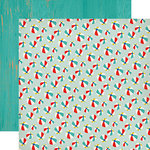 Carta Bella Paper - Beach Day Collection - 12 x 12 Double Sided Paper - Beach Ball Bash
