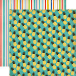 Carta Bella Paper - Beach Day Collection - 12 x 12 Double Sided Paper - Pineapple Paradise