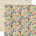 Carta Bella Paper - Beach Day Collection - 12 x 12 Double Sided Paper - Summer Fun