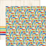 Carta Bella Paper - Beach Day Collection - 12 x 12 Double Sided Paper - Surf Shop