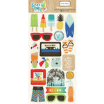 Carta Bella Paper - Beach Day Collection - Chipboard Stickers