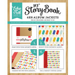 Carta Bella Paper - Beach Day Collection - My StoryBook - 6 x 8 Album Jacket - Popsicles