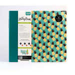 Carta Bella Paper - Beach Day Collection - My StoryBook - 12 x 12 Photo Journal - Pineapple