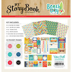 Carta Bella Paper - Beach Day Collection - My StoryBook - Pocket Page Kit