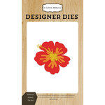 Carta Bella Paper - Beach Day Collection - Designer Dies - Hibiscus Flower