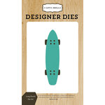 Carta Bella Paper - Beach Day Collection - Designer Dies - Long Board