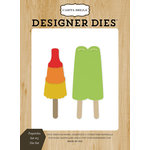 Carta Bella Paper - Beach Day Collection - Designer Dies - Popsicles 3