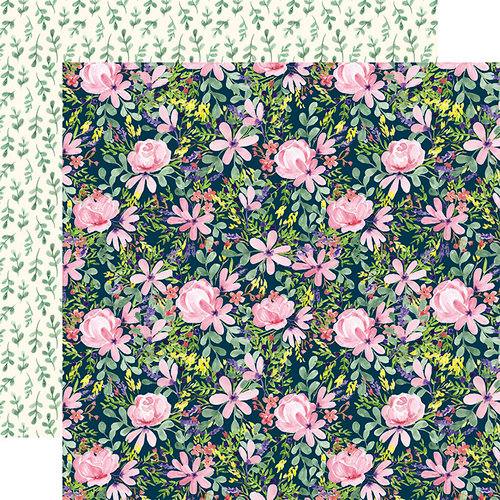 Carta Bella Paper - Botanical Garden Collection - 12 x 12 Double Sided Paper - Daisy - Corsage