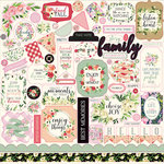 Carta Bella Paper - Botanical Garden Collection - 12 x 12 Cardstock Stickers - Elements
