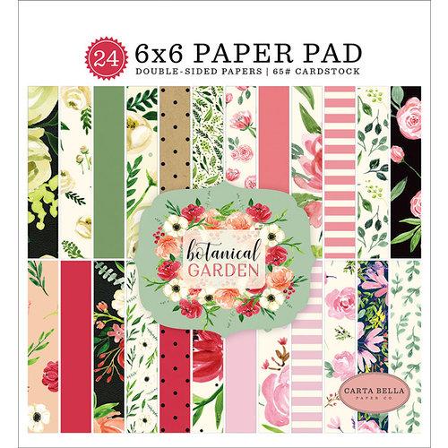 Carta Bella Paper - Botanical Garden Collection - 6 x 6 Paper Pad