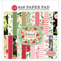 Carta Bella Paper - Botanical Garden Collection - 6 x 6 Paper Pad