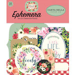 Carta Bella Paper - Botanical Garden Collection - Ephemera