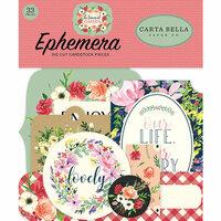 Carta Bella Paper - Botanical Garden Collection - Ephemera
